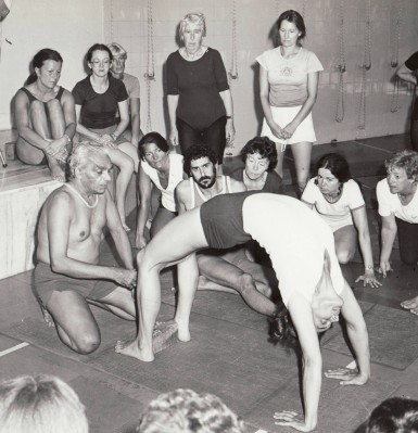 BKS Iyengar teaching